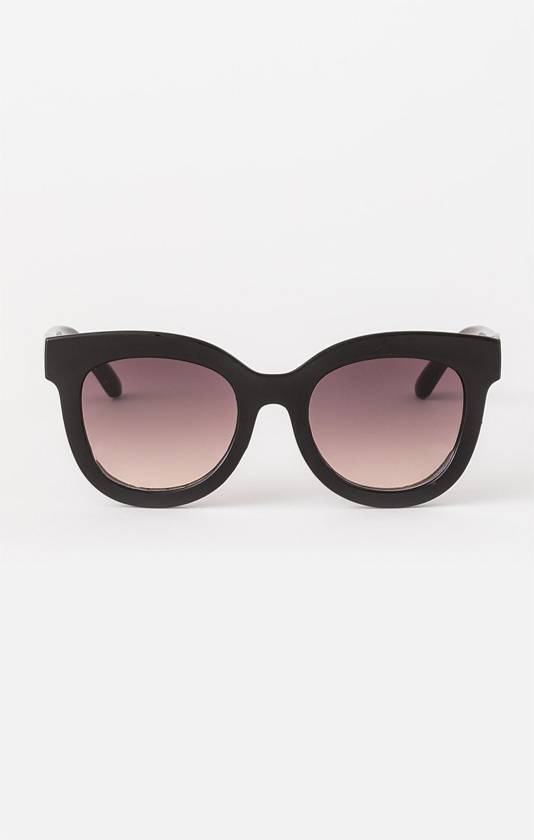 BRITTANY SUNGLASS IN BLACK