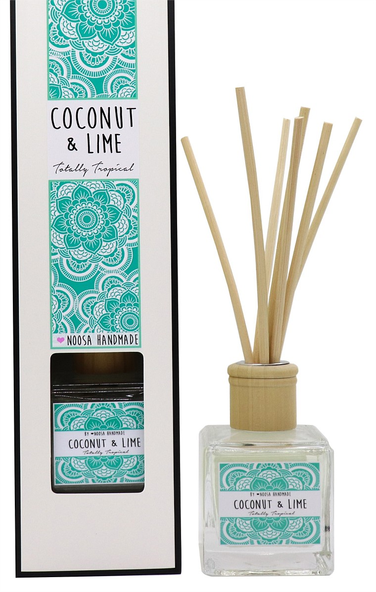 REED DIFFUSER IN COCONUT AND LIME SCENT