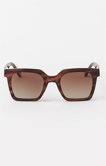MILAN SUNGLASS IN WOOD