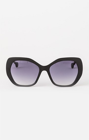IDA SUNGLASS IN BLACK