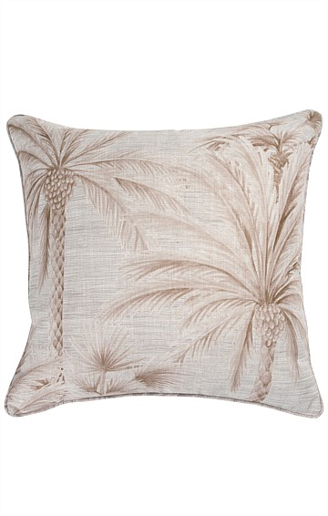 CHUSAN REVERSIBLE INDOOR CUSHION IN JUTE PRINT
