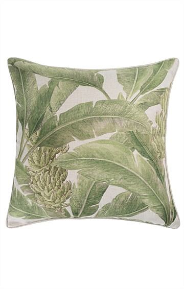 TROPICANA KIWI REVERSIBLE OUTDOOR CUSHION IN BAHAMAS PRINT