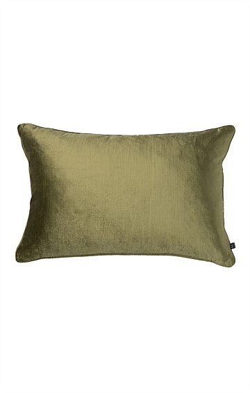 ROMA VELVET INDOOR CUSHION IN PISTACHIO