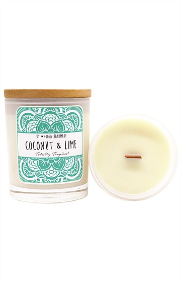 JAR CANDLE IN COCONUT AND LIME SCENT