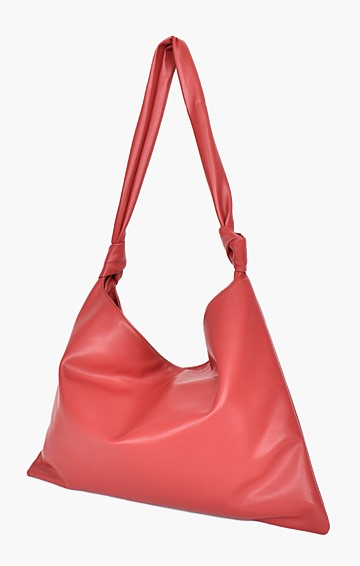 KELLY UNSTRUCTURED SHOULDER BAG IN BERRY