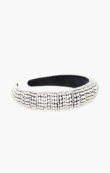 BELLE OF THE BALL DIAMANTE HEADBAND IN CRYSTAL