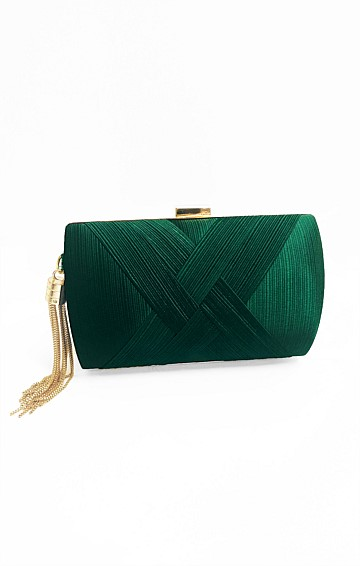 DEANNA EVENING BAG IN GREEN